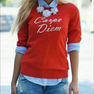 **Preppy** Banana Republic Carpe Diem Sweater